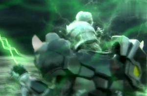 铠甲勇士:五个铠甲第一次手牵手,合体,太震撼,太感到