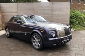 世界上最豪华的汽车之一,劳斯莱斯幻影!