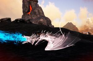 妖月 方舟生存进化 盖亚恐惧07 探索危险恶魔岛!抓捕光明毒飞龙