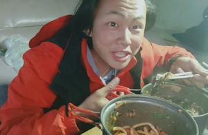 徒步西藏香肠发霉了,舍不得扔做那道菜,吃了结果去医院了!