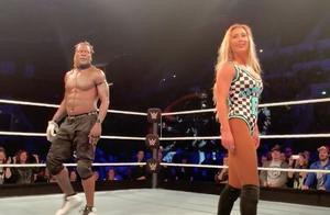 WWE欧洲巡演 二柱子和卡梅拉的7秒尬舞环节被沙利文手动取消