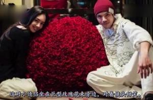 向佐520探班郭碧婷,上万朵玫瑰花铺满地板超浪漫,幸福感爆棚!