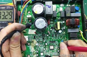 格力变频空调E5、交流过流保护故障维修实例、E5维修方向