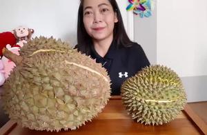 说到吃榴莲,不得不服这位泰国小姐姐,一下吃了4公斤的榴莲!