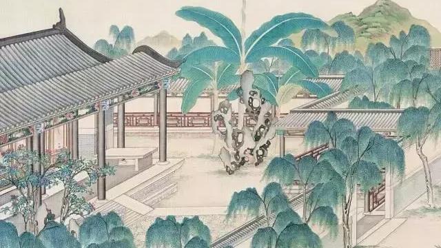 形容庭院的诗词 描写庭院静谧优美的诗
