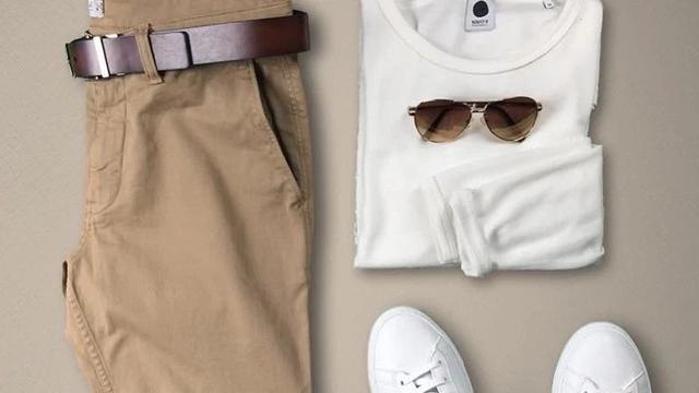 棕色上衣搭配什么颜色的裤子最好
