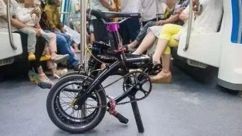 地铁上能带自行车吗
