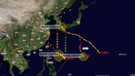 温州台风网台风路径