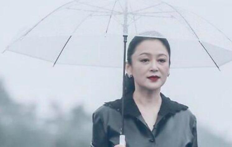51岁陈红未修生图曝光,法令纹明显略老态,还意外撞脸倪萍?