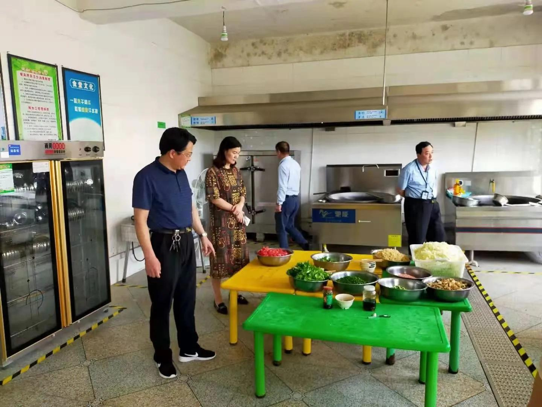 [我为群众办实事]桐柏县埠江镇开展校园食品安全检查行动
