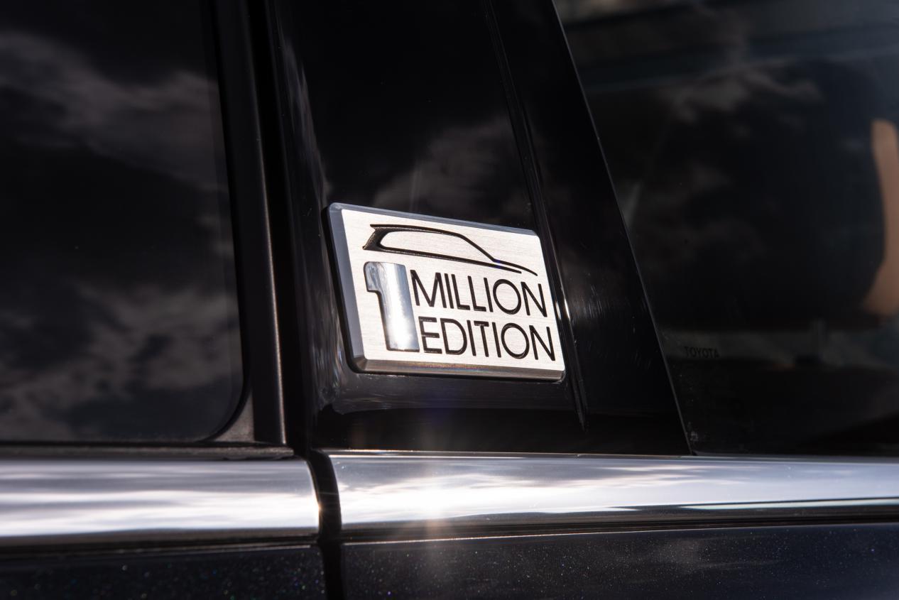 汉兰达累计销量突破100万台,百万纪念版荣耀面世