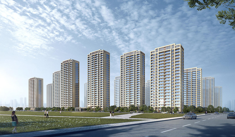40.59亿拿地,21栋高层、邻里中心…碧桂园义乌江东项目规划公示(图4)