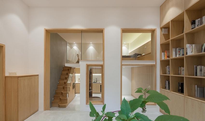 买下一楼老房,45㎡改造出两房一厅!卫生间分离式,还带个花园