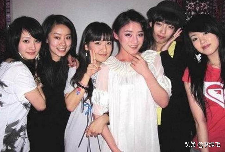 北京電影學院的張小斐、楊冪、袁姍姍、焦俊艷4個女星4種活法