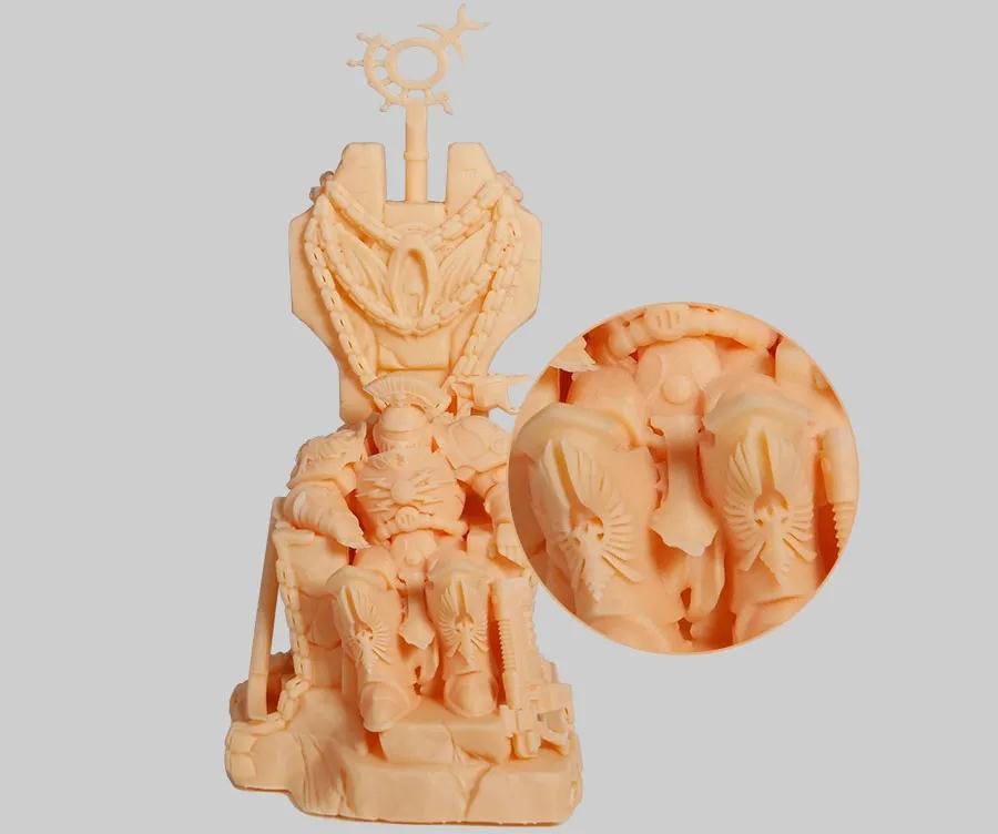 极光尔沃:教你如何提高光固化3D打印机打印模型的精度