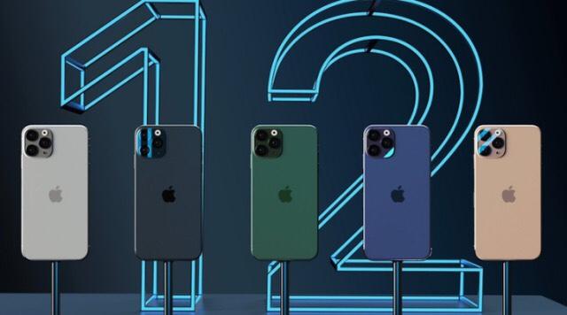 iPhone12五大配色确定!蓝绿金灰银,你最喜欢哪一款?