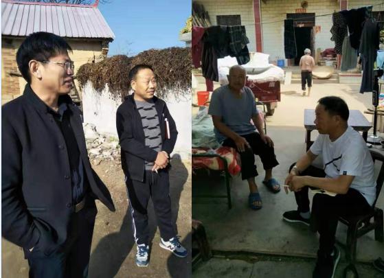 扶贫路上永久的丰碑:四里店镇军章村第一布告王力同道业绩报告