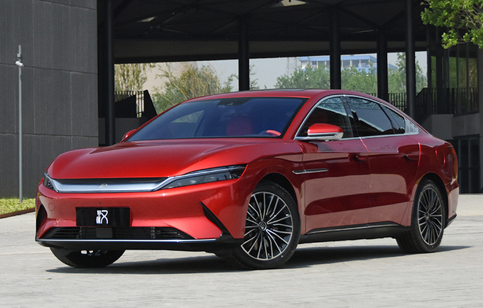 """比亚迪将推""""低价版""""汉EV,前脸酷似奥迪A6L,面向网约车市场"""