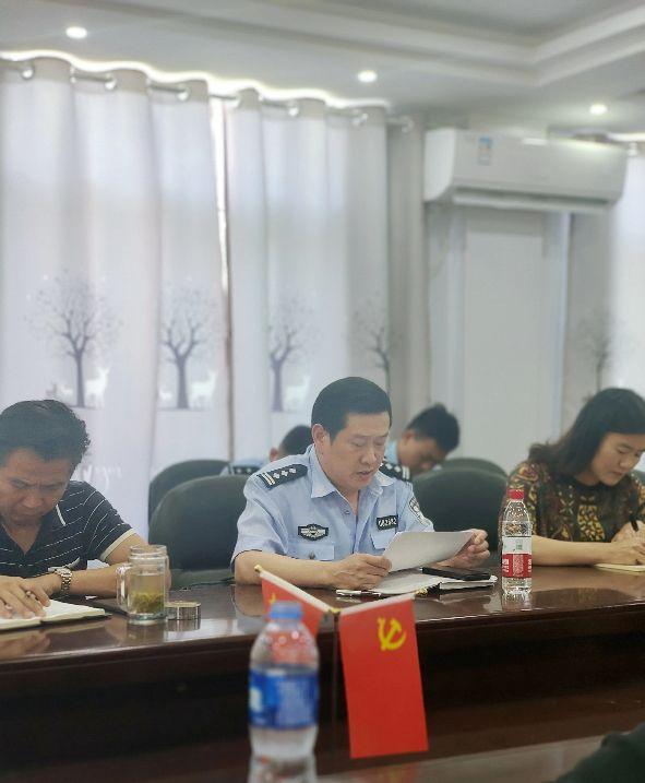 [我为群众办实事]桐柏县埠江镇召开校园安全工作会