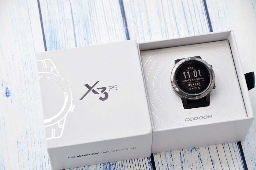 城市户外终极选择,咕咚智能运动手表X3-RE