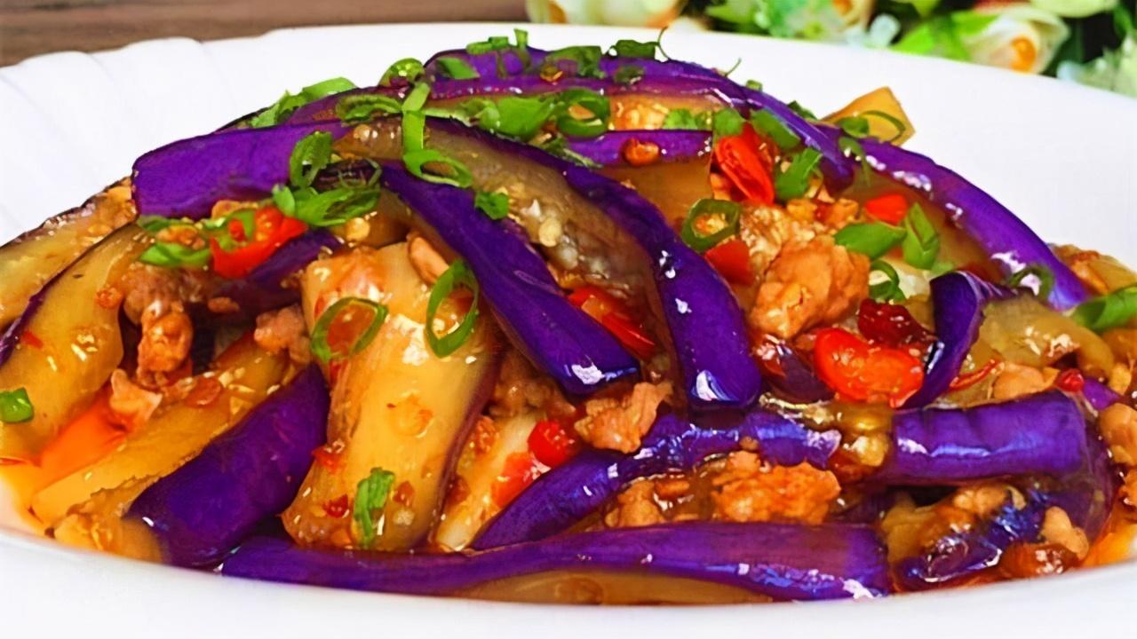 茄子换种做法比肉都好吃百倍,给肉都不换!酸甜浓郁还解馋!美味