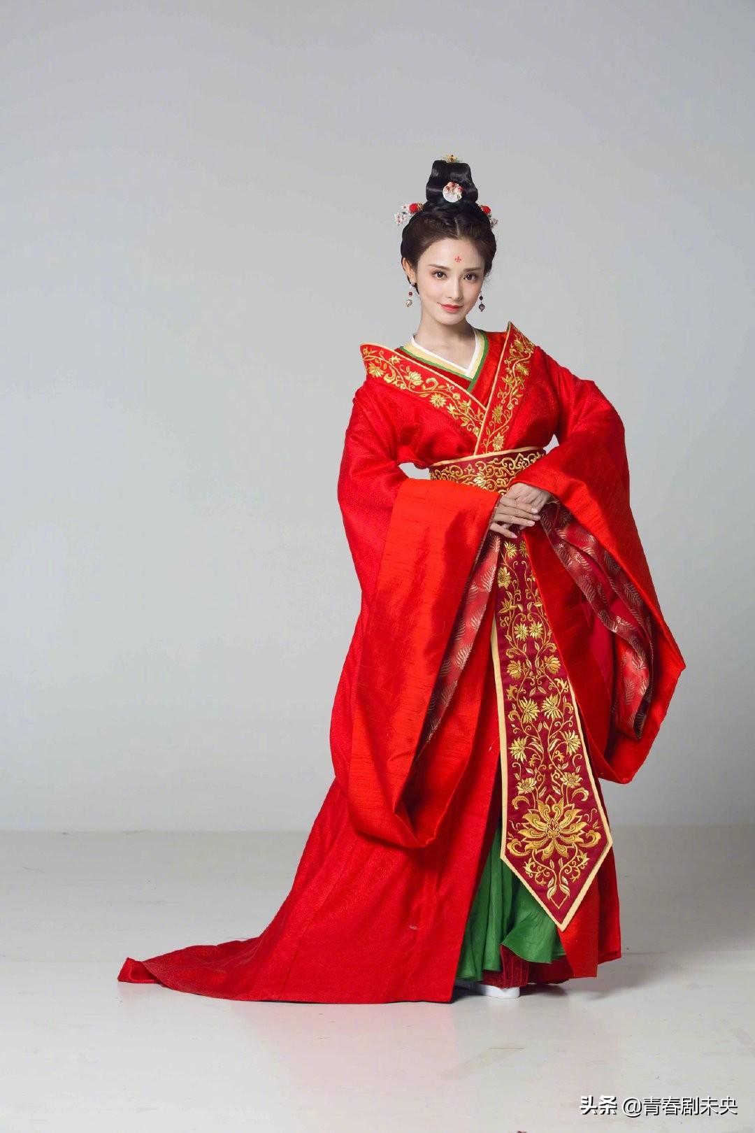 东宫未曝光女主的定妆照,是真的美