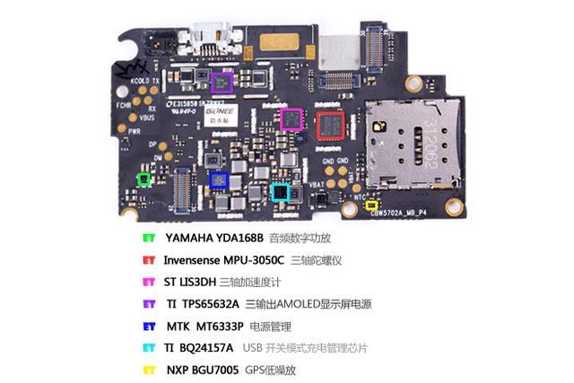 e拆卸:金立elife S5.5,5.5毫米薄厚怎样练出?