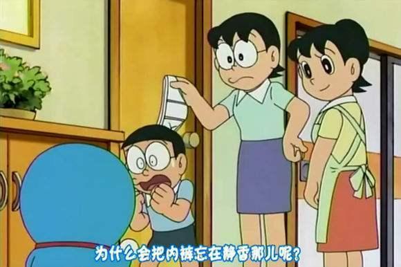 《哆啦A梦》里的妈妈们,谁最勤俭持家?