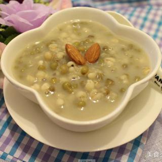 绿豆跟薏仁粉煮有什么功效?