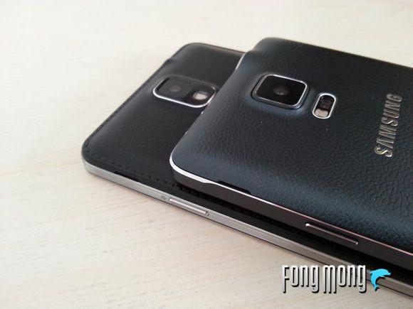 三星Note 4与三星Galaxy Note 3对比评测