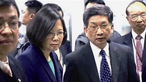 蔡英文什么时候上任(台湾总统几年一届)