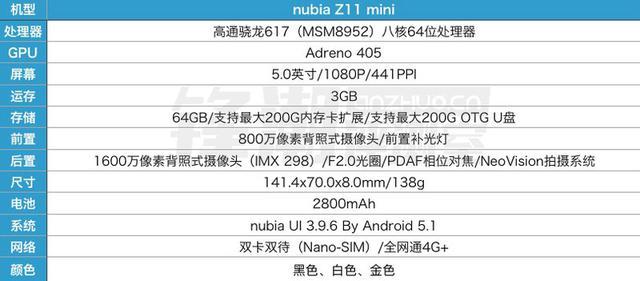 小屏拍照旗舰:nubia Z11 mini上手体验