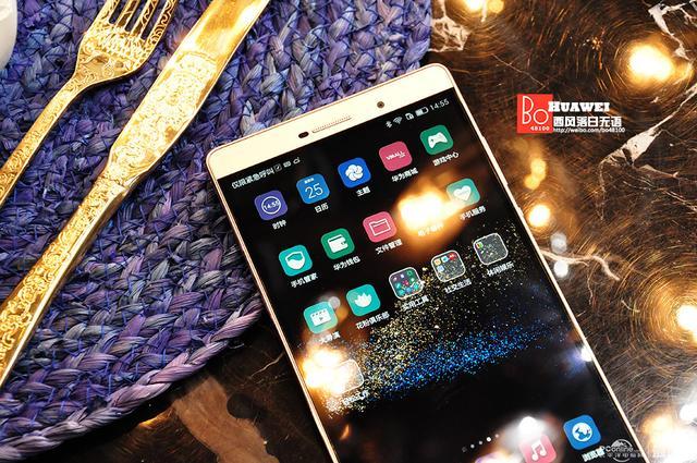 深度体验华为P8 max 6.8英寸的巨屏商务手机