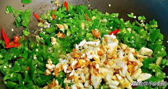 云南特色鬼火绿是什么菜?超级下饭,记得提前配好3大碗白米饭
