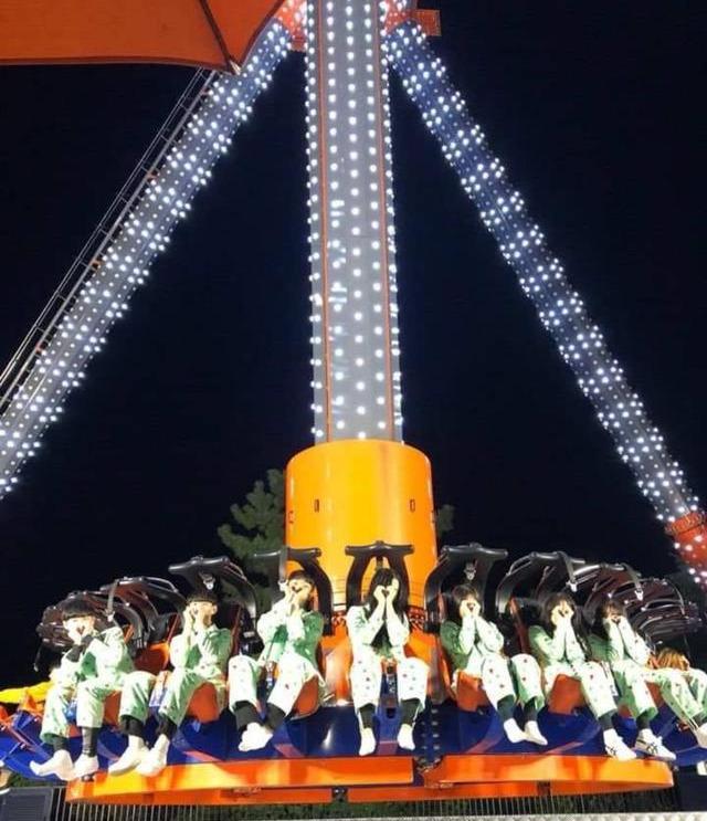 """韩国最高""""跳楼机"""",从30楼高空落地只需3秒,你敢玩?"""