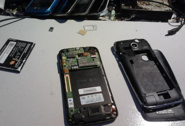 想到A390t手机上 安卓系统智能机 启动进到安全中心修补方式