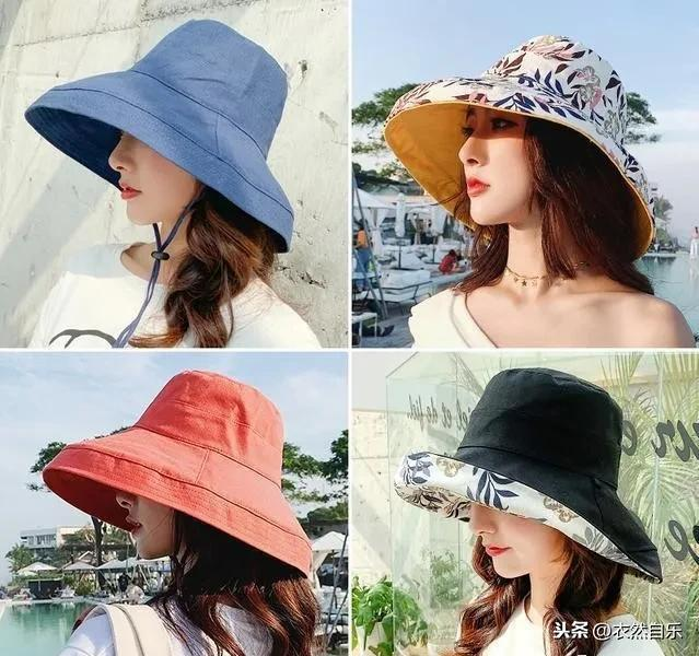 太陽帽不吃香了,現流行疊疊帽,時尚遮陽人見人夸