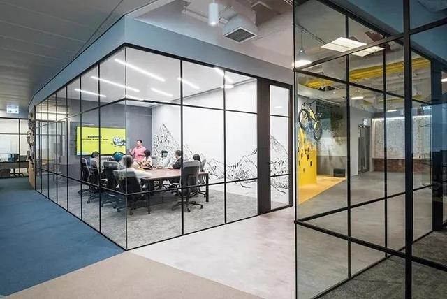 独特而有趣的创意空间怎么打造?这个办公室给你灵感