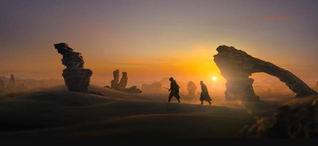 乱小说录目伦200篇何润东《征途》首播,剧情一般,特效优质,堪比好莱坞质量