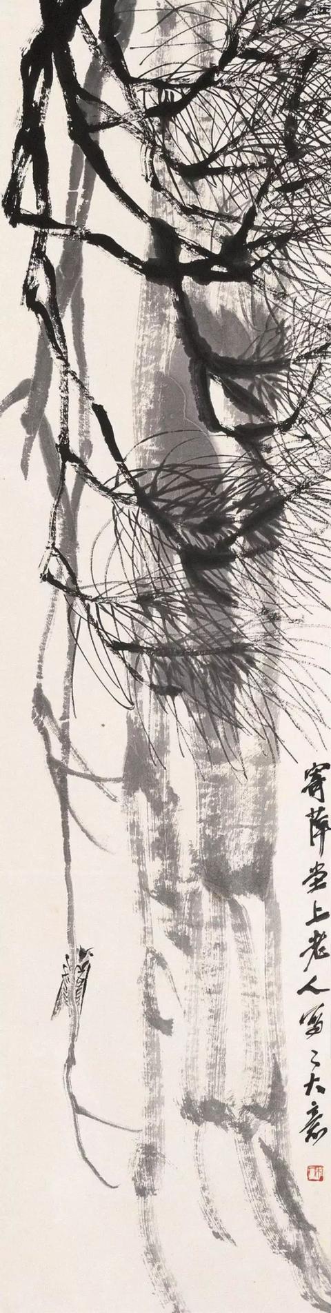 看齐白石笔下的蝉叫的正欢,听蝉鸣提醒我们现在依旧是三伏天