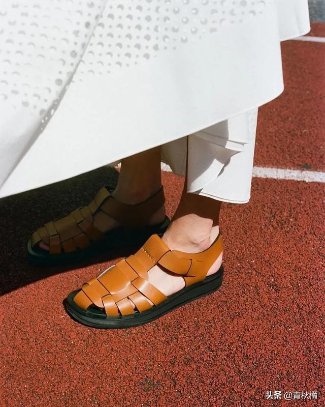 憨憨的渔夫凉鞋,穿起来居然有点美