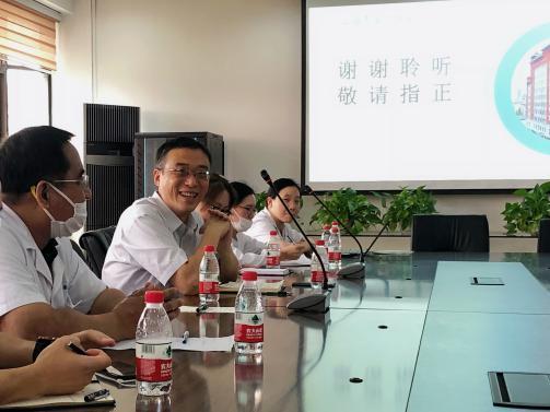 上海中医药大学康复医学院一行莅临上海市第二康复医院作教学指导