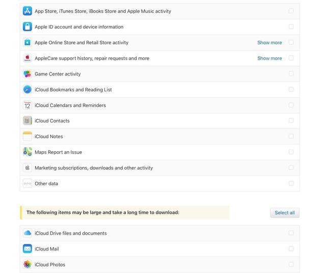iPhone发布新的隐私保护网址,客户可下载Apple ID数据信息