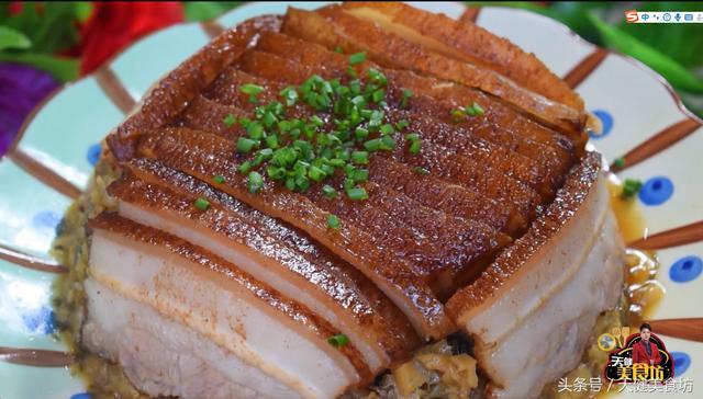 广东客家菜,梅菜扣肉,怎么做