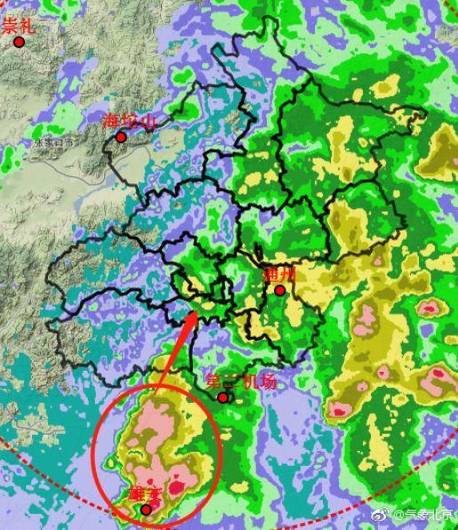 北京天气跟踪:降水云团正在进京 或影响晚高峰