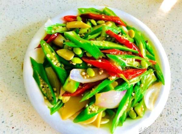 秋葵和竹笋可以一起吃吗