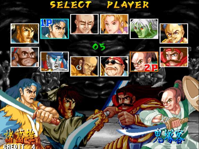 街机游戏中出现的中国功夫,对功夫情有独钟的游戏开发商