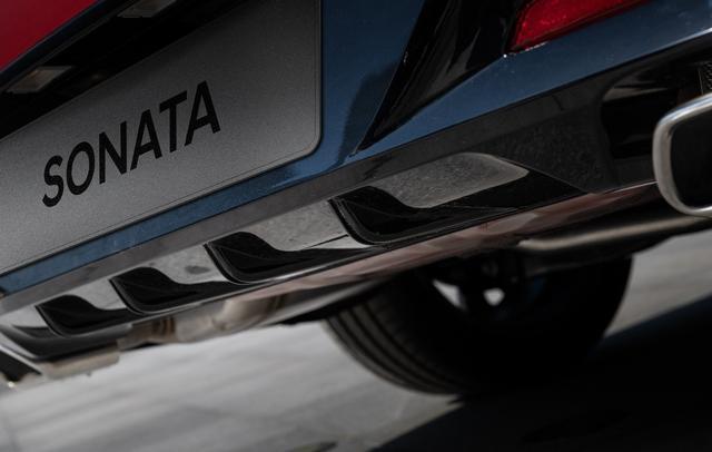 第十代索纳塔动力参数曝光 油耗低至5.6L
