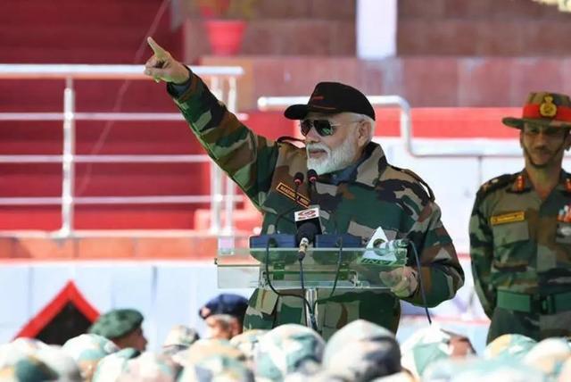 还不死心?莫迪又走出危险一步,印度边境局势难以预料
