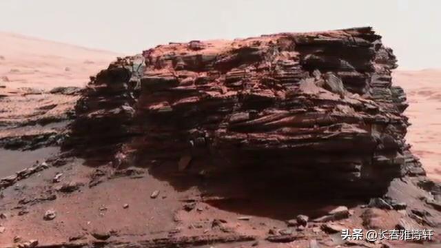 火星表面最新高清图 酷似神秘吐鲁番的火焰山 NASA正在直播